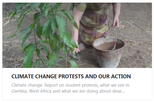 climate change protests and our actin